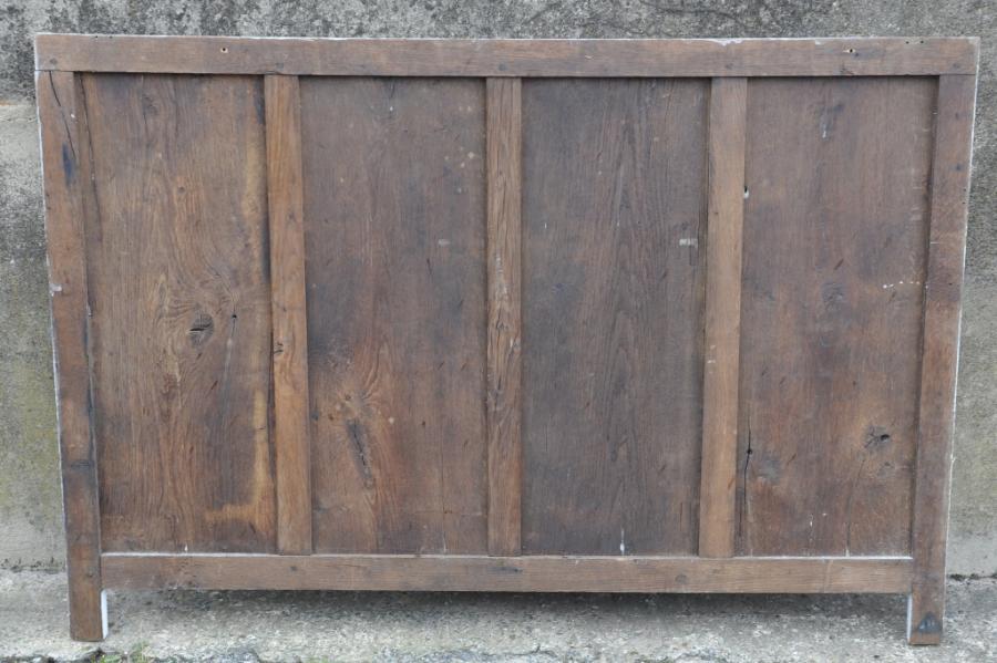 one length antique oak linenfold panelling