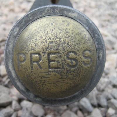 Antique Bell Pull or Toilet Flush