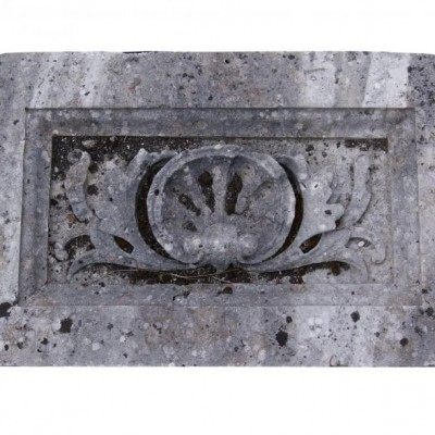 Antique carved Portland stone frieze panel 6