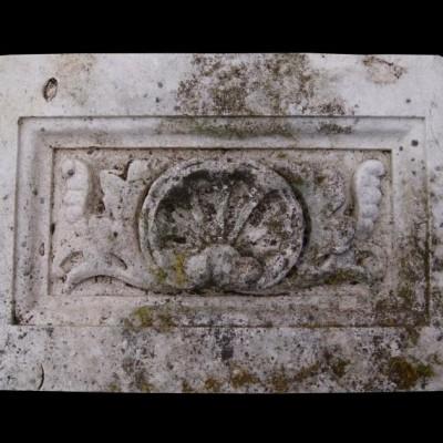 Antique carved Portland stone frieze panel 11