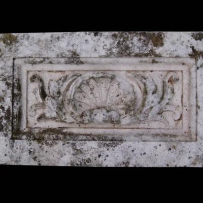 Antique carved Portland stone frieze panel 15