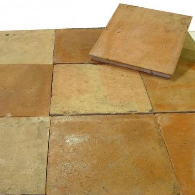"Carrelage terre cuite 25 x 25cm - Terra cotta (10""x10"")"