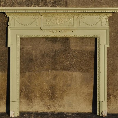 victorian cast iron fire surround in georgian style