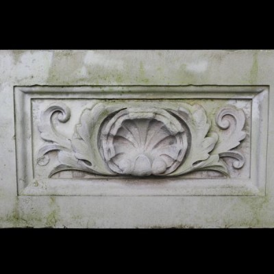 Antique carved Portland stone frieze panel