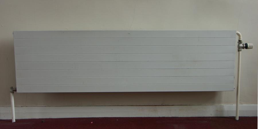 Horizontal industrial steel radiators