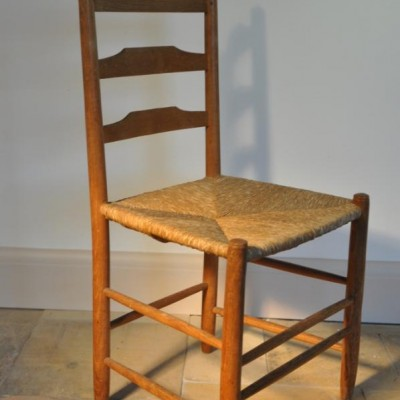 ernest gimson ladder back ash chair
