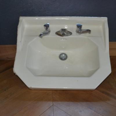 lavabo emaille - reclaimed French washbasins