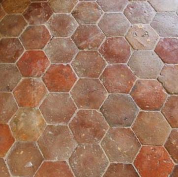 for sale terre cuite hexagones antique hexagonal terra cotta salvoweb fran. Black Bedroom Furniture Sets. Home Design Ideas