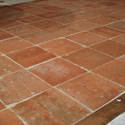 carreaux anciens Terre Cuite 22x22cm - Antique terra cotta tiles