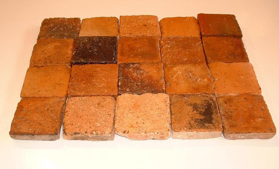 Carreaux anciens terre cuite - Antique terra cotta tiles