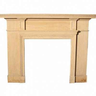 19th C. Pine Fire Surround