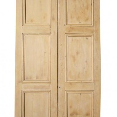 Pair of antique dividing doors