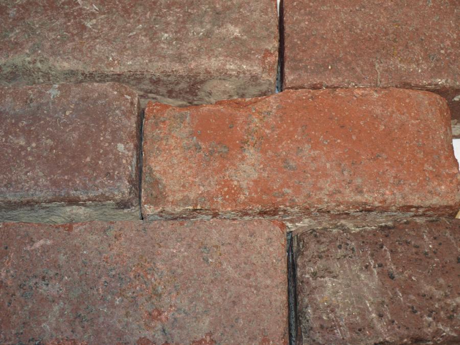 Reclaimed Street Bricks and Cobblestones