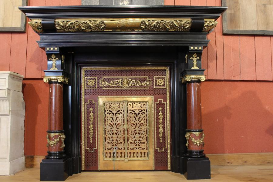 Cheminee Empire en marbre - Antique French marble fireplace P.O.A.