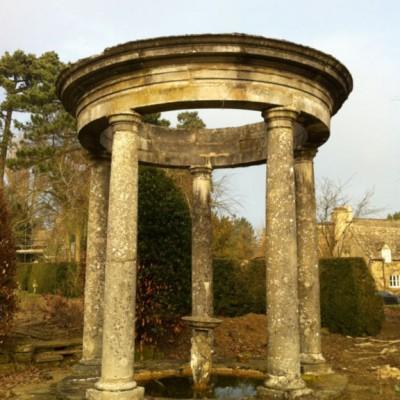 cast stone garden Rotunda C. 1900
