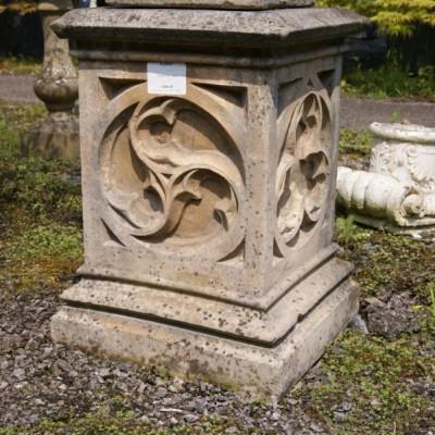 Gothic Stone Plinth