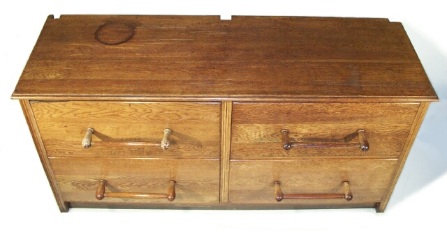 Large Drapers Haberdashery Oak chest drawers.1920's 30's