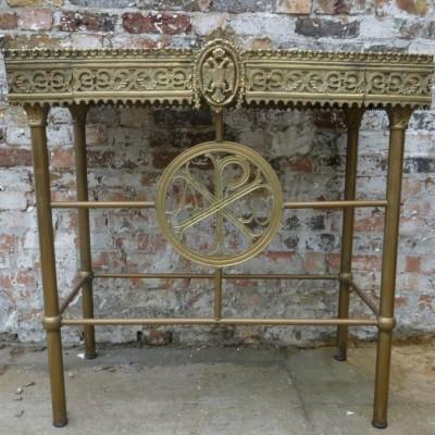 Greek Orthodox Candle Table