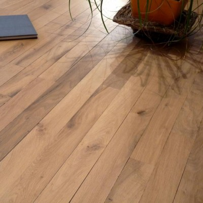 Parquet plancher en vieux chêne - Antique oak parquet flooring
