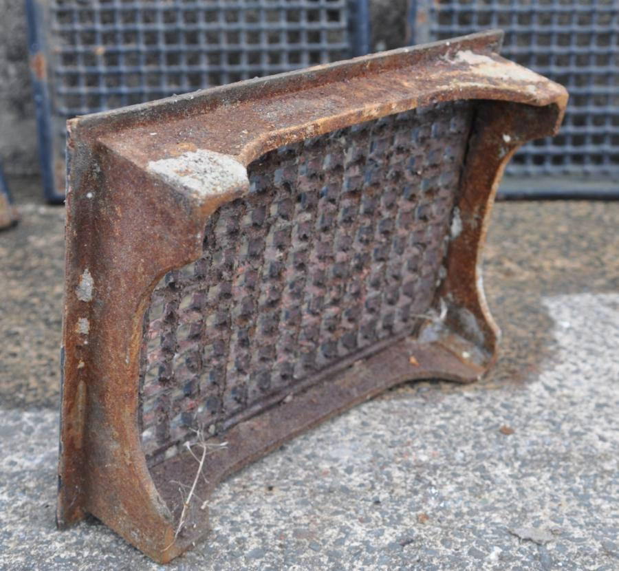 large victorian cast iron air vents bricks