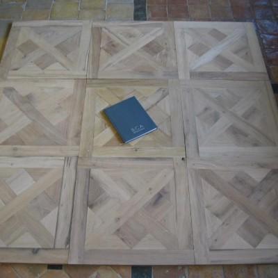 Panneaux Versailles chene vieilli - oak small Versailles panels