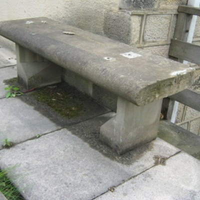 stone bench seat