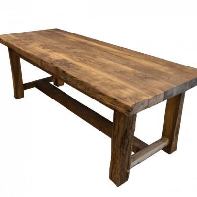 table en vieux chene - farmhouse table in antique oak