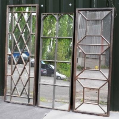 Cast Iron Mirrors