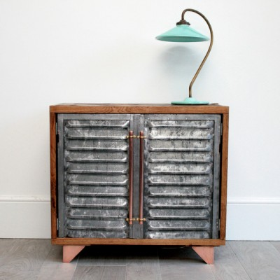 Hand Crafted Vintage Industrial Sideboard