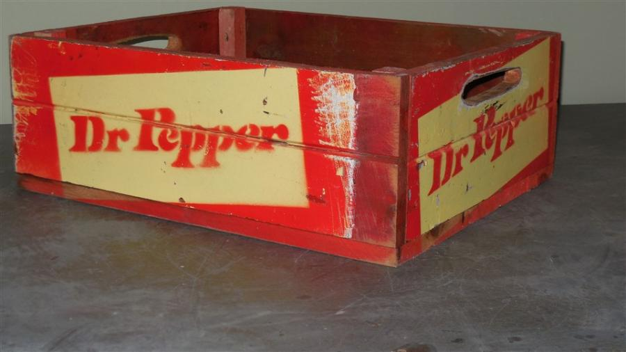 vintage style crates
