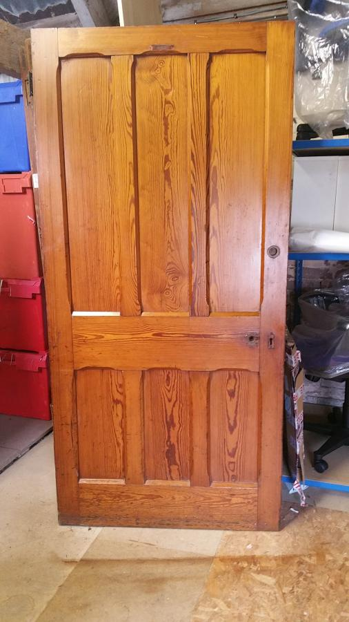 Victorian Door in Pitch Pine 6 Panels - See for sizes