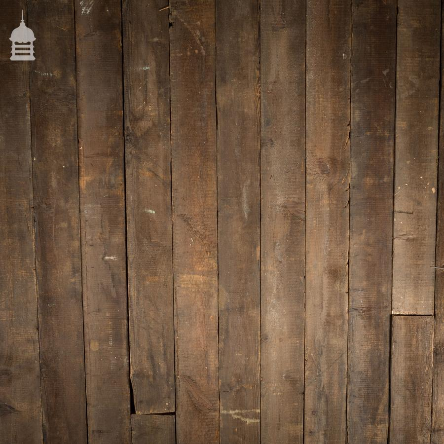 36 Square Metres Oxidised Pine Floor Boards Wall Cladding