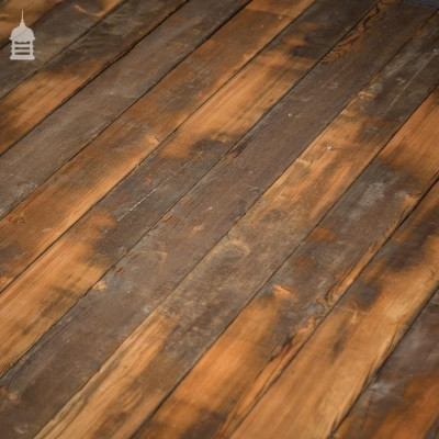 38 SqMs of Partially Skimmed Pine Floor Boards Wall Cladding