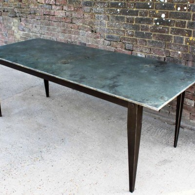 Limited Edition Zinc Top Table