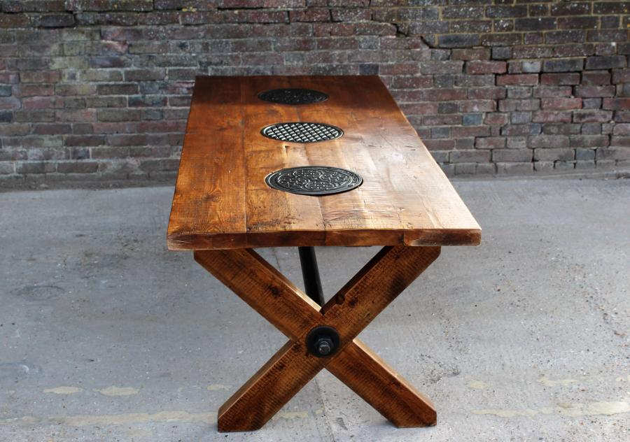 Every Lewes Joist X Frame Table