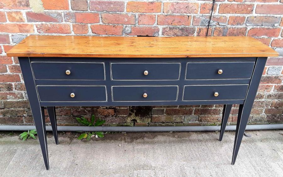 6 Drawer Side Table