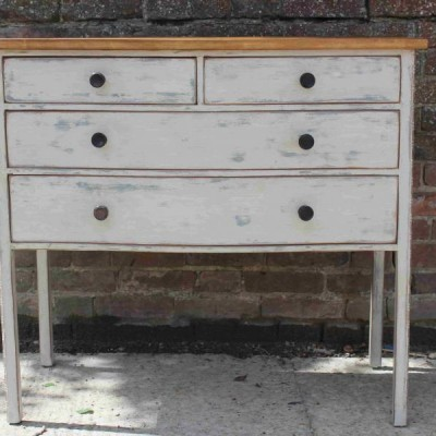 6 Drawer Antique Chest of Drawers