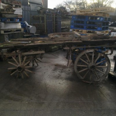 Wanted 4 wheel horse cart or old dray