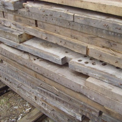 Large quantities of reclaimed pine timber - any quality.