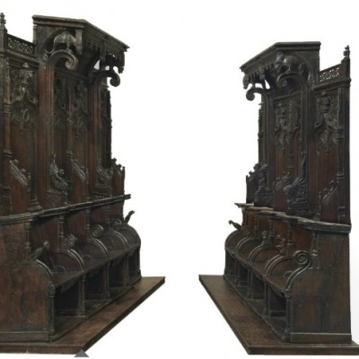 Desperately seeking single or pair of oak gothic Choir stalls