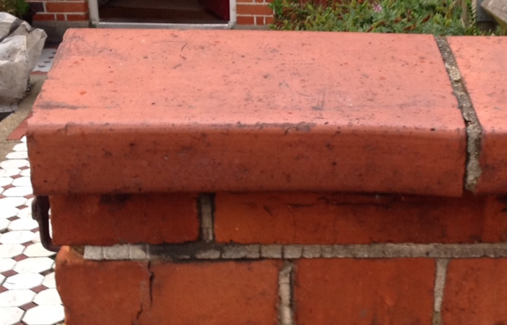 Red Terracotta Stone : Wanted red coping stones circa salvoweb uk