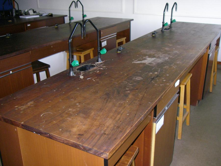 wanted reclaimed iroko teak school science laboratory