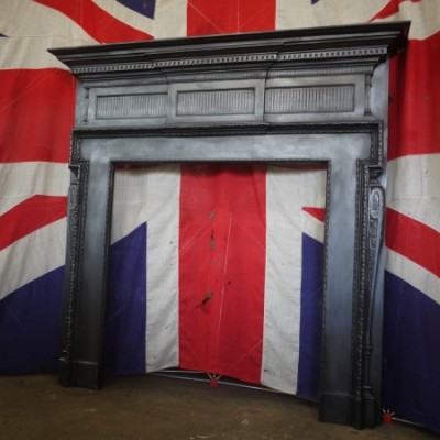 Victorian Cast Iron Fireplace Fire Surround for Customer