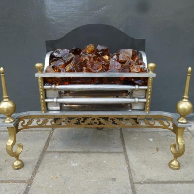 Regency Style Electric Fire Basket
