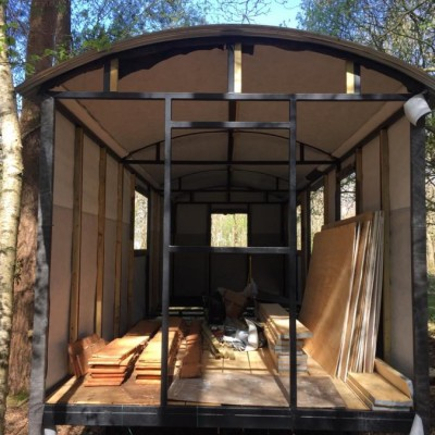 5 Windows for Shepherds Hut