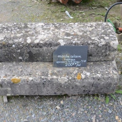 marche pierre calcaire rustique - antique limestone steps
