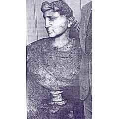 Bust of CALIGULA (Recovered 31 May 2001 TI)