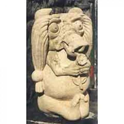 Bath stone Matilda with pig nose