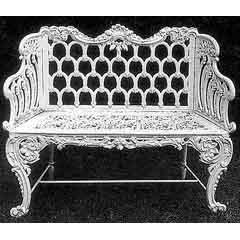 A pair of Carron benches