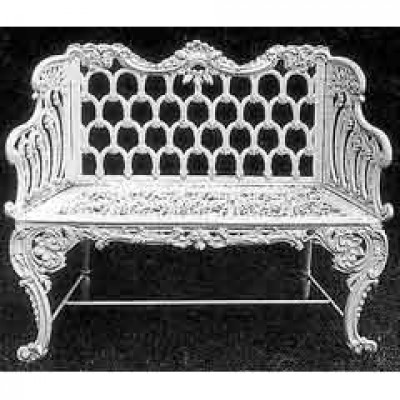 A pair of Carron benches